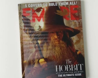 The Hobbit 3D A4 Notebook handmade from an Empire magazine