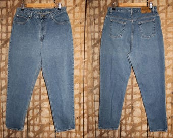 90s FADED GLORY jeans , Vintage High waisted jeans , 34 Waist , Faded Glory Tapered Jeans , 90s tapered jeans , Vintage mom jeans , Size 16