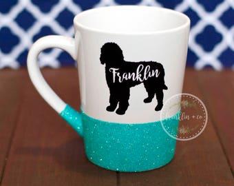 Custom Dog with Name | 14oz. Coffee Mug