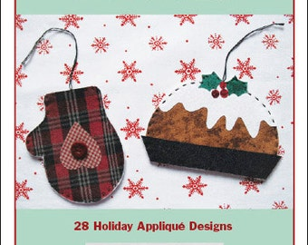 Christmas to Appliqué Pattern Pack