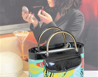 Vintage Peter Pan Handbag/Designer Handbag/1970's Peter Pan Bag/ (Ref1934M)