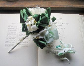 Fabric Flowers * Vintage Fabric Wedding Bouquets * Gifts and Keepsakes * Destination Bouquets * OOAK Bouquets * Alternative Flowers * Brides