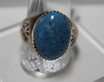 Denim Lapis and Sterling Silver Ring