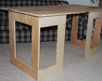 Simple Plywood Desk (PDF Instructions)