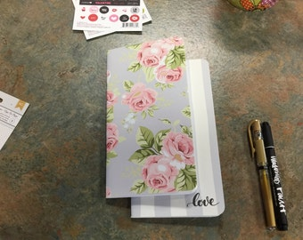 2 Travelers Notebook Inserts - Webster's Color Crush Collection - Flower Insert for Dori - Journal your thoughts for your Bible Journalling!