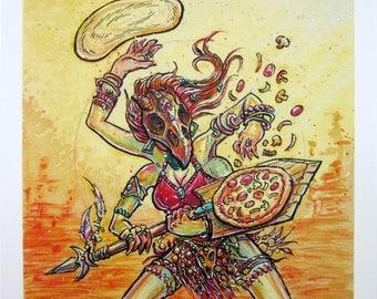 Pizza Cult — Chef — giclée print