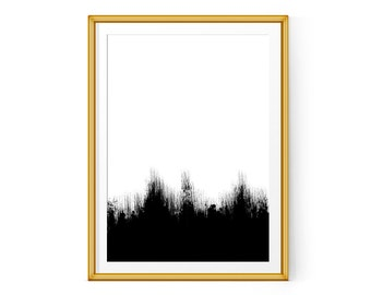 "Abstract art, Modern art, Minimalist print, Printable wall art, Instant Download, Scandinavian Wall Art, Large printable 24x36"", 16x20"",A1"