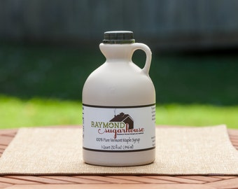 2018 QUART 100 Percent Pure Vermont Maple Syrup with FREE SHIPPING