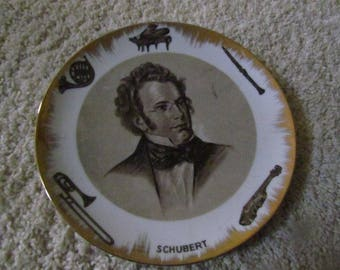 Schubert Plate By Lipper & Mann