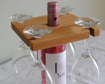 Handmade Wine glass holder