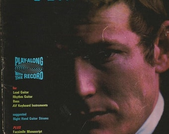Vintage GORDON LIGHTFOOT - The Way I Feel - Song Book For Lead Guitar - Rhythm Guitar - Bass - Keyboard Instruments - Words - Music - Chords