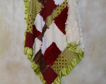 My Sweet Little Elf Christmas Baby Blanket