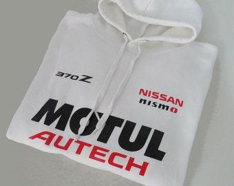Nissan Nismo 370z sweatshirt hoodie  nissan nismo sweater nissan hoodie nissan nismo hooded nissan 370z hooded polar shirt