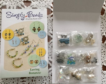 Earring Supplies Simply Beads Kit-of-the-Month