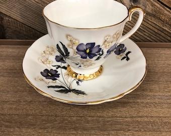 Royal Eton Floral Teacup & Saucer