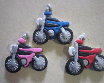 1 Dozen Motorcycle Hand Decorated Cookies