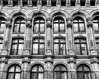 Old Montréal Windows - Montréal - Fine Art Print - Photograph - Wall Art - Decor