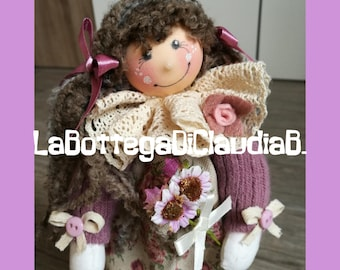 Doll of flowers
