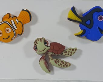 Finding Nemo Lapel Pins Two Different Sets