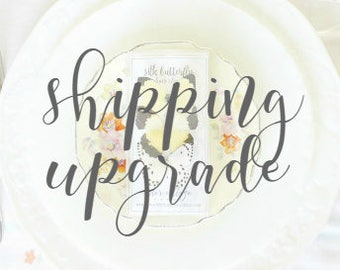 Shipping upgrade to *Priority Mail* for U.S. orders PLACED PREVIOUSLY