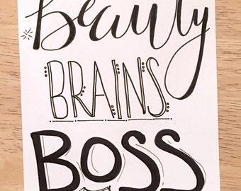 Boss Print