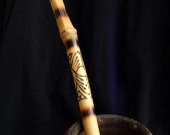 Bent Bombilla Yerba mate drinking ceremony YERBA Mate Bombilla curved Bombilla Bamboo straw Bamboo Cane Bombilla
