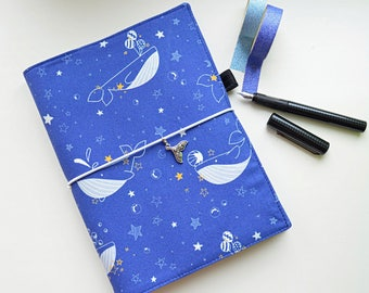 Hobonichi cover fabric, leuchtturm1917 A5 size, Handmade Cover for Notebook, Hobonichi Style A5, A6 Techo, Planner Cover, Weekly Planner