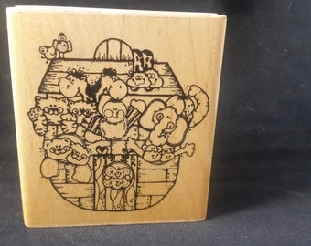 Little Noah Rubber Stamp - Used -