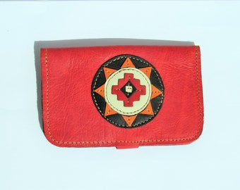 Tobacco pouch handcrafted and original leather