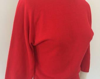 1950s lightweight wool sweater
