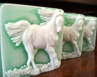 Soap. Running Horse with scent of Mulberry.