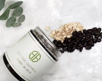 Coffee Oatmeal Body Scrub
