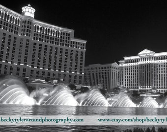 Bellagio Fountain Fine Art Photo Print