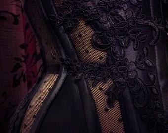 """Waist cincher underbust corset covering """"moles"""""""