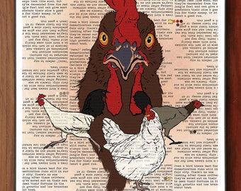 Feral Chicken Poster