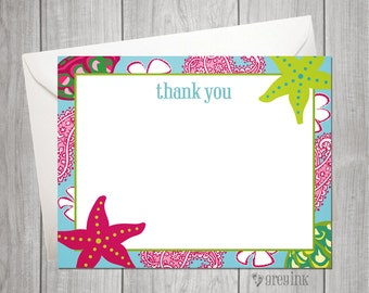 Custom Thank You Flat Notes inspired by Mud Pie