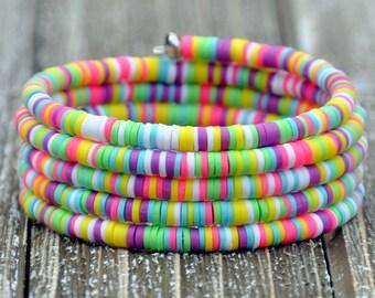 Spring Fun Bohemian Wrap Bracelet