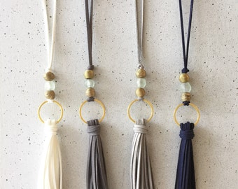 The Neeli Tassel Necklace