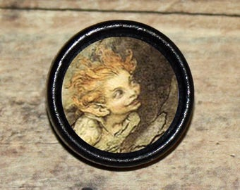 Shakespeare PUCK Midsummer Nights Dream Pendant or Brooch or Ring or Earrings or Tie Tack or Cuff Links
