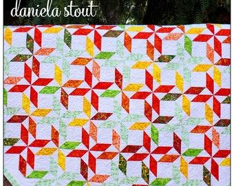 "Cozy Quilt Designs ""Sunburst"" Quilt Pattern"