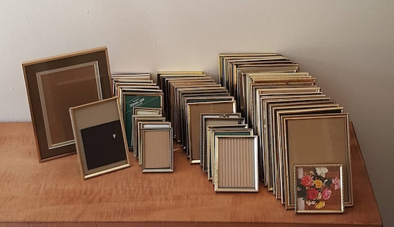 Vintage Gold Metal Picture Frames:See Listing(6x8)~(5x7)~(5x5)~(4x6 ...