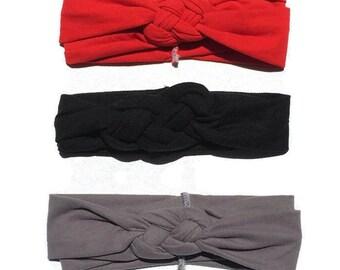 baby turban headband - baby headbands - knot headband - celtic knot headband -twist headband - baby headband - girl headbands