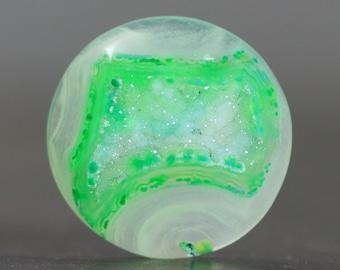 Bezel Edge Polished Gemstone Drusy Agate (21348)