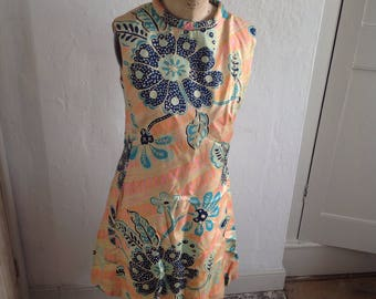 1960s shift dress size 10 UK