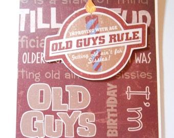 Men's Birthday Greeting Card