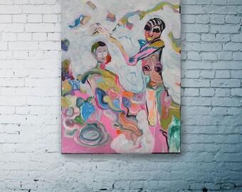 """Original Painting """"The Failed Escape"""" Contemporary art"""