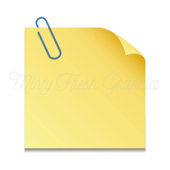 sticky note clipart planner clipart paper post it notes vector rh etsystudio com blue post it note vector post it note vector file