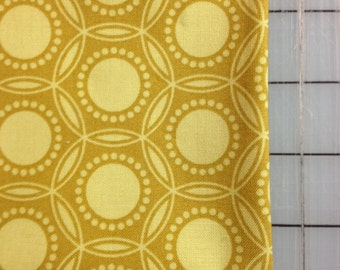 Joel Dewberry Heirloom 1 fat quarter   - Opal in Gold - Circles JD52