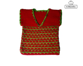 Holiday Baby Vest