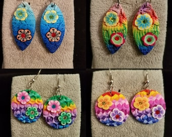 Colorful Playful Earrings